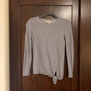 Madewell long sleeve top